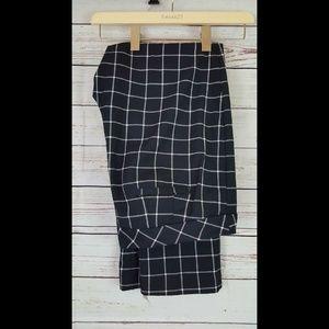Worthington Pants - Womens check plaid dress pants slacks Worthington